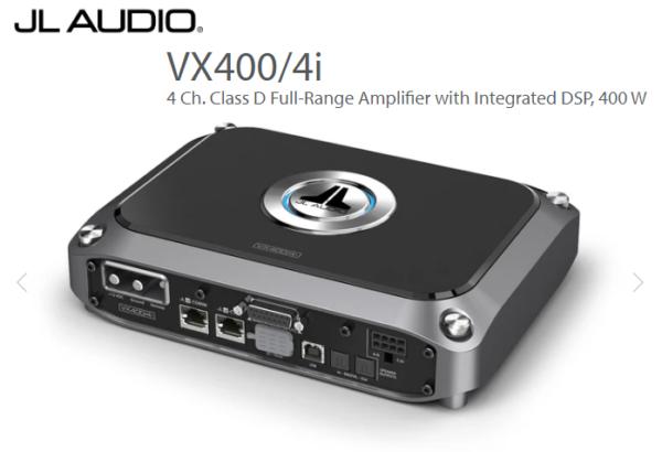 JL 400 Watt VXI Amplifier