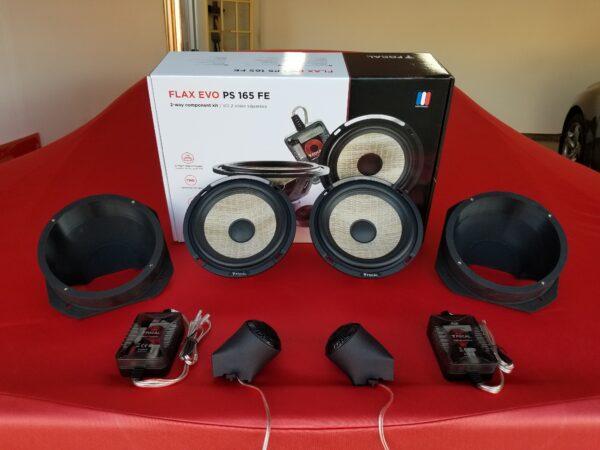 F8 Carbon Fiber Component Speakers Upgrade