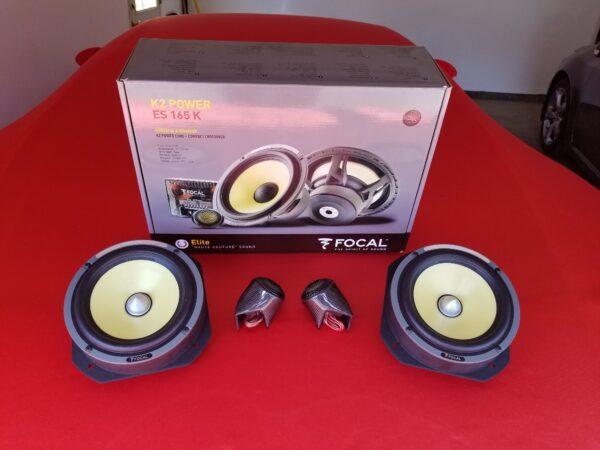 488 Deluxe Carbon Fiber Component Speakers Upgrade